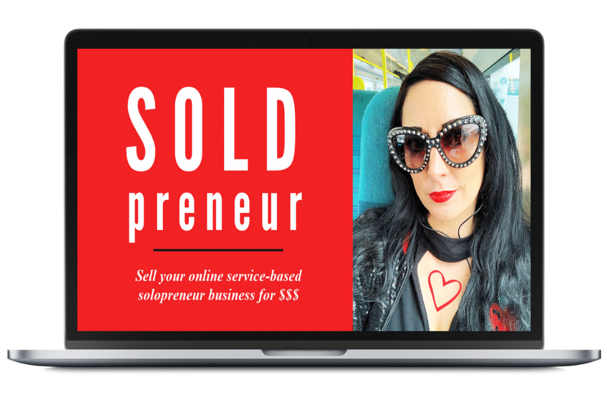 SOLDpreneur VIP strategy day laptop graphic